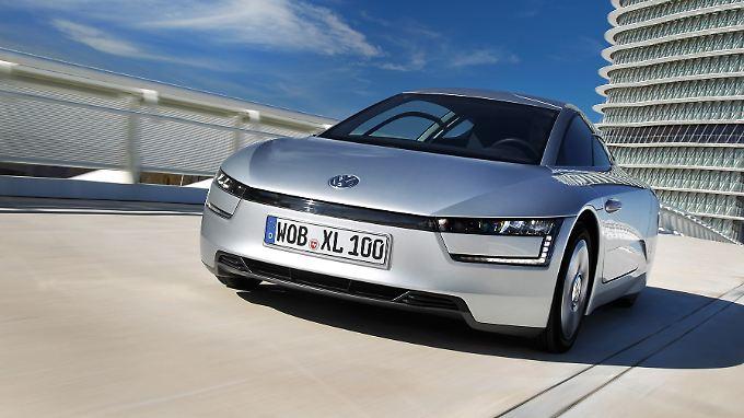 Aus der Studie L1 ist mit dem XL1 innerhalb von elf Jahren ein serienreifes Auto geworden.