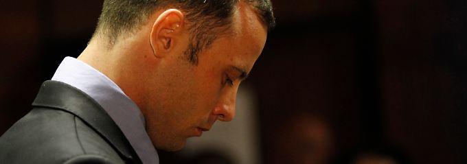 Pistorius bei der Anhörung am Mittwoch.