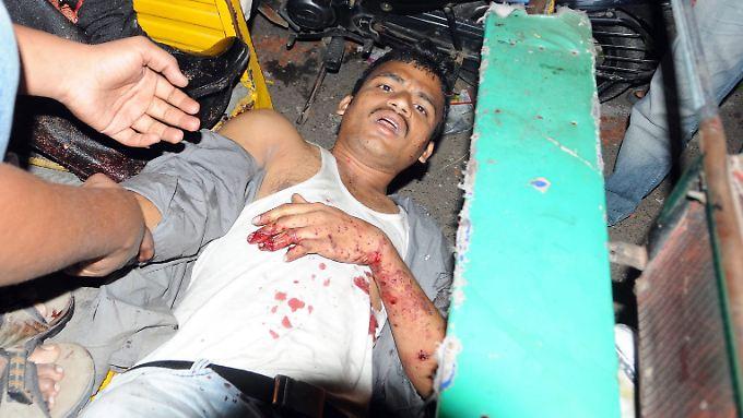Bombenanschläge haben in Indien elf Todesopfer gefordert.