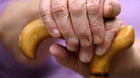 """Bei der Renten sind noch """"schwierige Fragen zu lösen""""."""