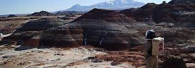 Simulation unter heißer Wüstensonne: Deutscher probt Leben auf Mars