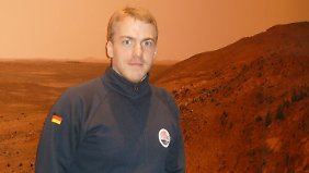 Der DLR-Wissenschaftler Volker Maiwald.