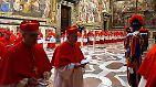 Am Dienstag, den 12. März ziehen sich die Kardinäle zur Konklave in der Sixtinischen Kapelle zurück, um das 266. Oberhaupt der katholischen Kirche seit dem Heiligen Petrus zu bestimmen.