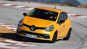 """""""RS"""" bedeutet am Clio nicht Renn-Semmel, sondern Renault Sport."""