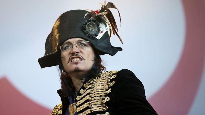 Der Pirat sticht wieder in See: Adam Ant.