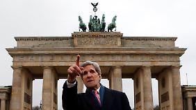 John Kerry kennt sich hier aus.