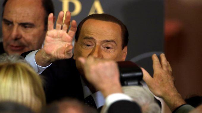 Ist zurück: Silvio Berlusconi.