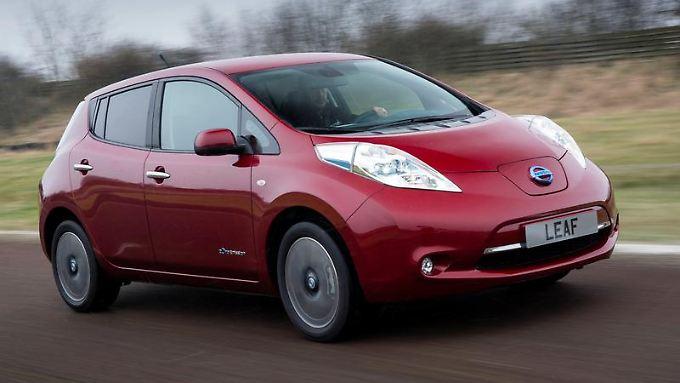 Mit dem Leaf brachte Nissan Anfang 2011das erste Elektroauto in der Kompaktklasse auf den Markt. Foto: Nissan