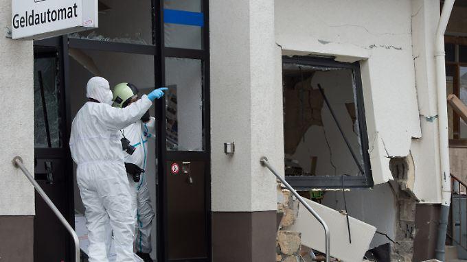 Die Schäden am Haus sind erheblich.