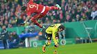 Die Münchner hatten dadurch erst einmal Probleme, ihr gewohnt dominantes Spiel aufzuziehen.