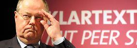 Video: Steinbrück verursacht Eklat