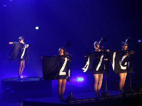 """Beim Bundesvision Song Contest waren Laing die """"Sieger der Herzen""""."""