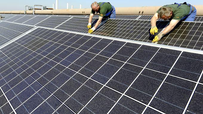 Etwa 80 Prozent aller Solaranlagen in Deutschland sind auf Dächern installiert.