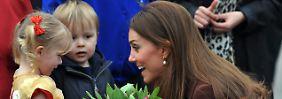 """""""Sogar sehr"""": Kate spürt ihr Kind"""