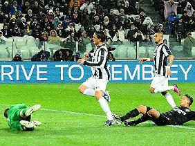 Erst 3:0, dann 2:0 - Juventus Turin ließ den wackeren Schotten von Celtic Glasgow im Achtelfinale keine Chance.