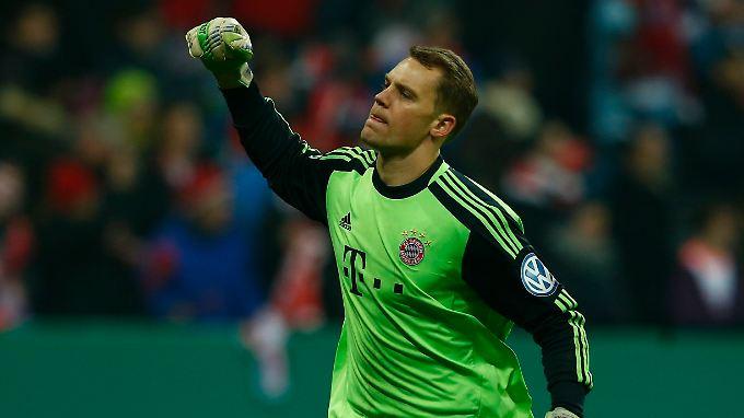 An ihm kommt kaum einer vorbei: Manuel Neuer, Torwart des FC Bayern München.