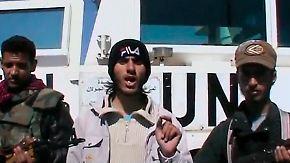 Geiseln in Syrien: Rebellen verschleppen UN-Soldaten