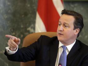 Plädiert für eine Ausweitung der konjunkturstimulierenden Maßnahmen: David Cameron.