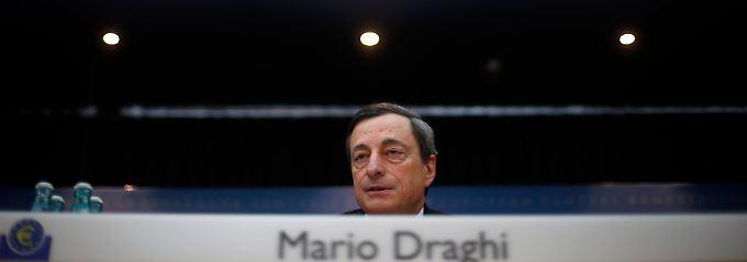 Ohne Reformen keine Erholung, mahnt EZB-Chef Draghi.