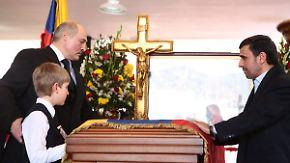 30 Staatschefs bei Trauerfeier: Chávez' Verbündete nehmen Abschied