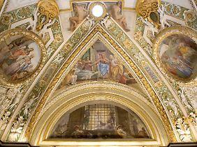 Die Cappella Paolina wurde von Papst Paul III. in Auftrag gegeben.