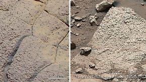 Leben auf dem Mars?: Curiosity wird fündig