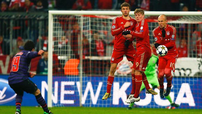 Der FC Arsenal machte in München aus drei Chancen zwei Tore, die Bayern aus unzähligen Gelegenheiten keins. Das ergab in der Addition einen hübschen Spannungsbogen.
