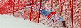 Armbruch, Absagen, Aufgabe: Ski-Weltcup versinkt im Chaos