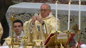 Erste Franziskus-Messe beendet Konklave: Papst mahnt zu mehr Spiritualität