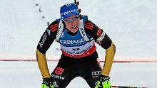 Fourcade bleibt Biathlon-Dominator: Birnbacher sprintet aufs Podest
