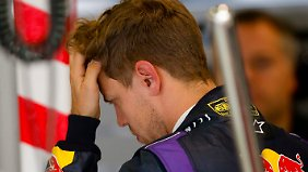 Weltmeister Vettel kam zunächst unbeschadet durch die Qualifikation.