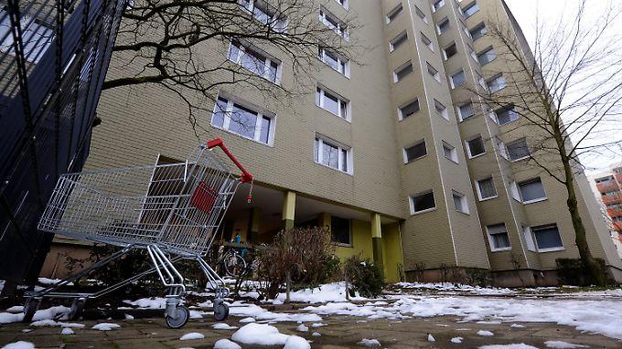 In diesem Gebäude in Bonn hatte einer der Festgenommenen eine Wohnung.