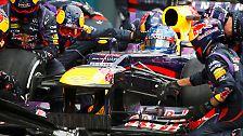 Der Iceman triumphiert beim Formel-1-Auftakt: Superweicher Vettel verzockt sich