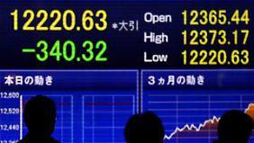 Zwangsabgabe zyprischer Bankkunden: Börsenkurse stürzen ab