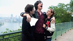 So sieht Glück aus: Charlie, Patrick und Sam.