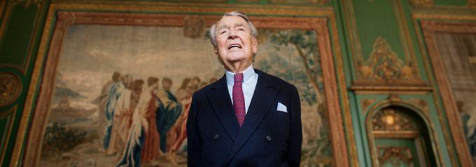 Berthold Beitz ist Vorsitzender der Alfried Krupp von Bohlen und Halbach-Stiftung.