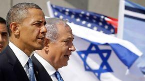 Obamas erster Israelbesuch: Ziemlich beste Freunde?
