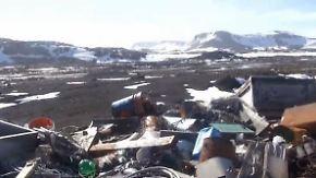 Illegale Deponierung: Antarktis wird zu Müllhalde