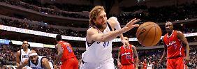 Aufholjagd der Mavs geht weiter: Nowitzki holt 33 Punkte