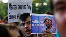 Bilderserie: Deutschland als Europas Sündenbock