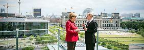 An Gesprächsthemen mangelte es Kanzlerin Merkel und Russlands Präsident Putin noch nie. Beide sprechen zudem deutsch und russisch.