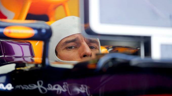 Mark Webber bleiben offenbar noch 17 Rennen im Red Bull. Gewinnen kann der Australier nichts mehr.