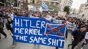 Undank bei der Euro-Rettung?: Deutschland - Feindbild Nr. 1