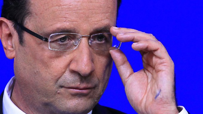 Derzeit wenig beliebt: François Hollande