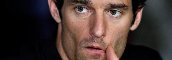 """""""Es ist noch zu früh, um über 2014 zu sprechen"""": Mark Webber."""
