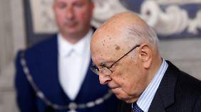 Noch ist völlig unklar, wer Staatspräsident Giorgio Napolitano im Amt folgen könnte.