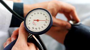 Tödliche Volkskrankheit: Bluthochdruck kommt schleichend