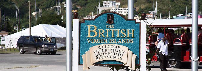 Hier werden die Gäste auf den British Virgin Islands willkommen geheißen. (Foto: go2bob)
