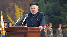 Ausländer sollten Südkorea besser verlassen, rät Kim Jong Un.