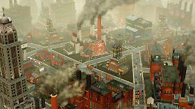 Smog gibt's natürlich nur in ausgewiesenen Zonen.
